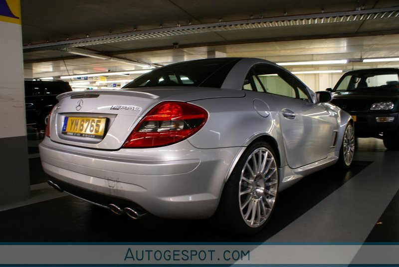 Mercedes benz slk 55 amg r171 black series 9 oktober for Mercedes benz slk series