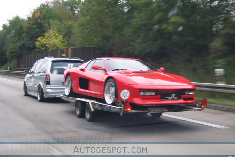 Ferrari Testarossa Wide Body Jb Car Design 5 November