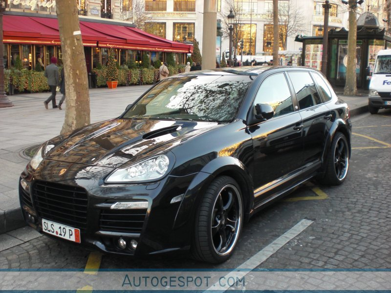 Porsche Cayenne Techart Magnum 2007 11 December 2008 Autogespot
