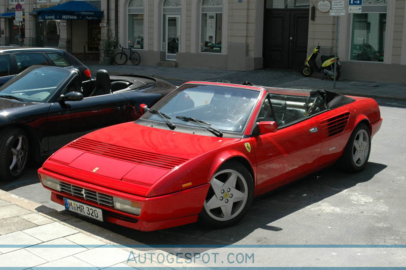 ferrari mondial 3 2 cabriolet 16 march 2008 autogespot. Black Bedroom Furniture Sets. Home Design Ideas