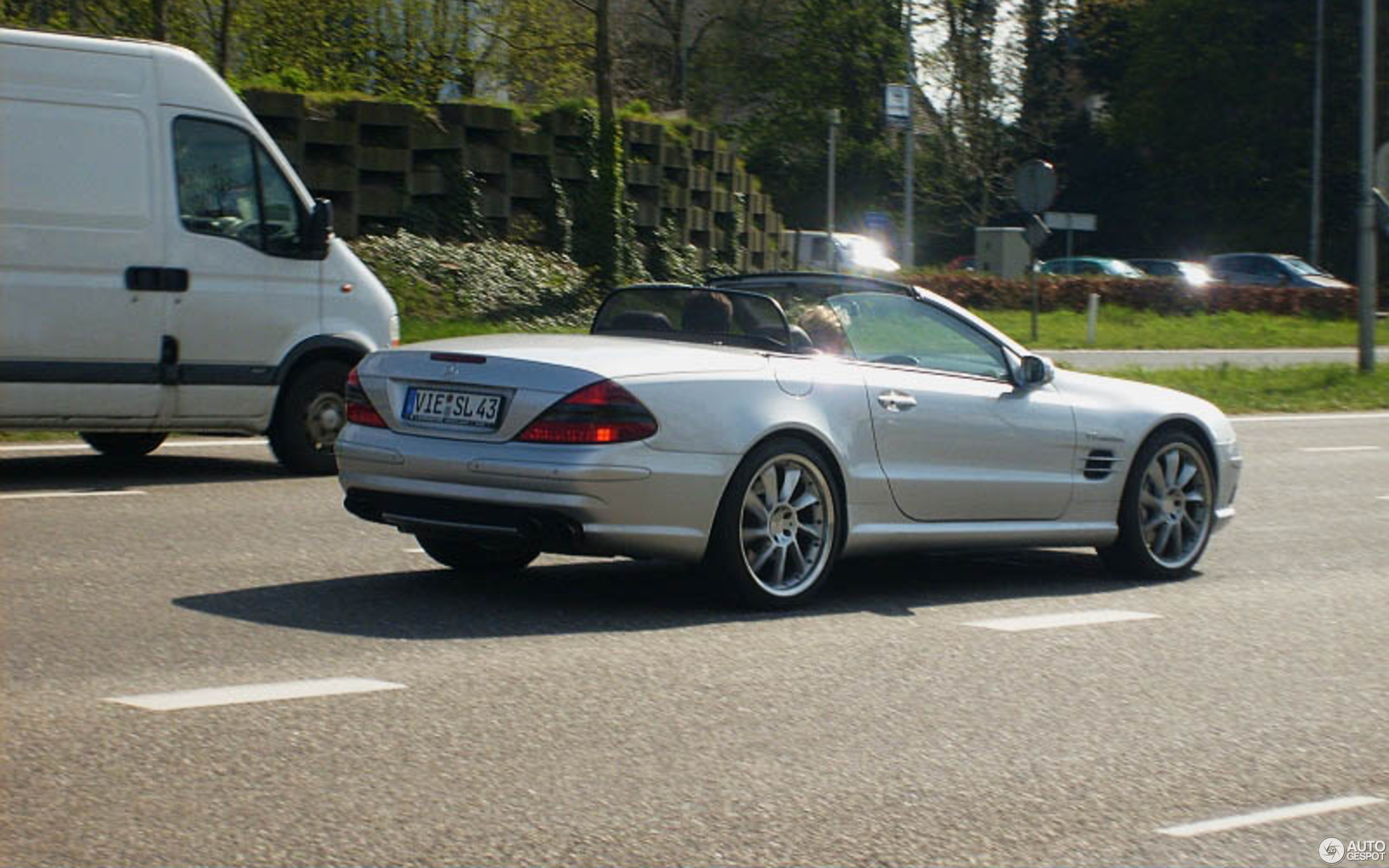 Mercedes Benz Sl 55 Amg R230 1 May 2008 Autogespot