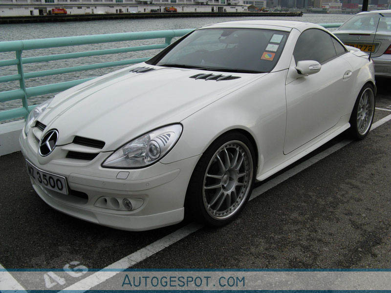 mercedes benz brabus slk b55 s r171 14 july 2008
