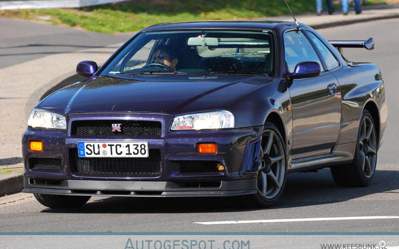 Nissan Skyline R34 GT-R V-Spec Midnight Purple Pearl II