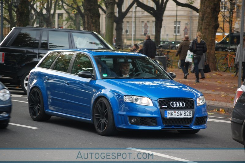 audi rs4 avant b7 26 oktober 2008 autogespot. Black Bedroom Furniture Sets. Home Design Ideas
