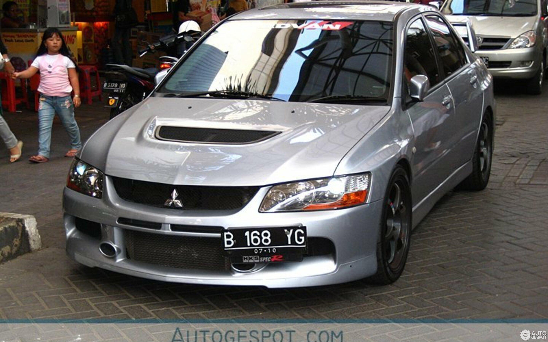 mitsubishi lancer evolution ix mr hks spec-r - 4 november 2008